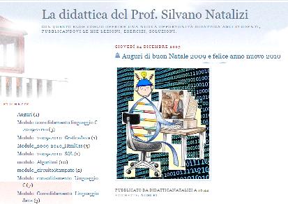 La didattica del Prof Silvano Natalizi